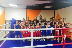 Прошли спарринги с командой прибывшей из города Луганск 2019