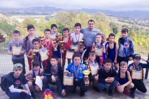В Сочи прошли соревнования по спортивной борьбе 2019