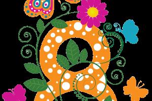 Мужской коллектив СШОР 3 поздравляет милых дам с 8 марта