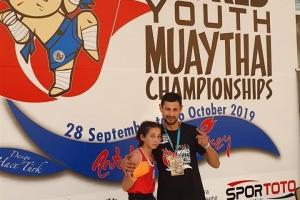Достойный результат на первенстве Мира по тайскому боксу 2019